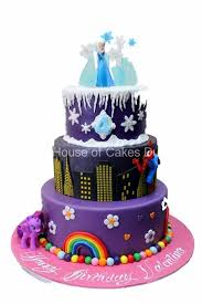 pony cake pony and frozen cake