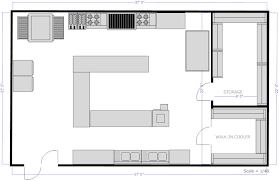 floor plans for kitchens kitchen layouts with island restaurant kitchen c island floor