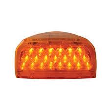 peterbilt 379 cab marker lights amazon com grand general 77230 amber 31 led peterbilt headlight