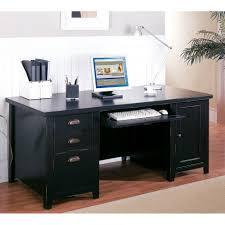 homcom computer desk pc executive workstation table home office