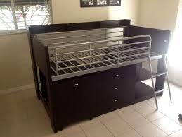 charleston storage loft bed with desk from walmart carter