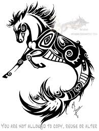 simple tattoo art gallery gallery hippocus simple tattoo drawing art gallery
