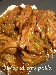 cuisine chinoise porc porc sauté au chou chinois et au gingembre bibica s cooking