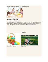 family tradition ideas pdf