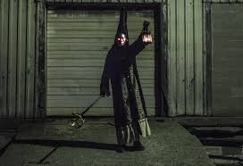 digital halloween mask this dark souls jailer halloween costume will raise your spirits