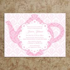 tea party invitation tea party invite baby by designswithstyle