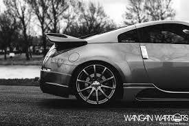 Nissan 350z Blacked Out - silver and joop u0027s 350z wangan warriors