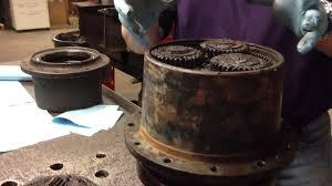 mini excavator final drive repair youtube