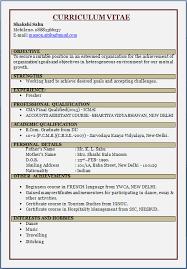 resume blog co resume sample cma fresher
