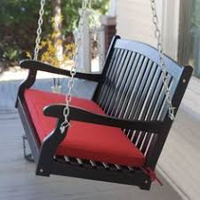 coral coast 43 x 14 porch swing and glider cushion on sale at