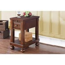 end table with outlet end table with power outlets wayfair