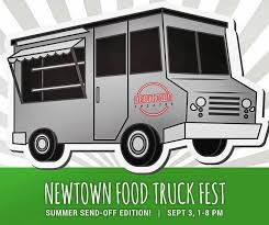 send food food glorious food newtown food truck is back with summer