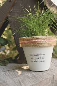 congratulations on your big a chive ment by plantpuns on etsy