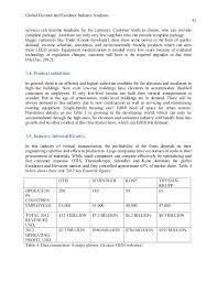 global elevator and escalator industry analysis