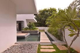 courtyard house designs courtyard house abin design studio archdaily