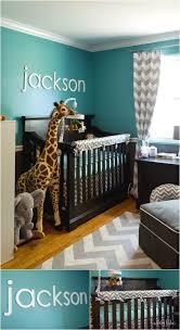 jackson u0027s teal and grey chevron safari nursery project nursery
