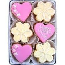 mother u0027s day sugar cookies letters tulips flowers butterflies