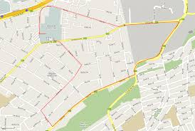 Map Running Route by Running Routes Bedfordview Athletics