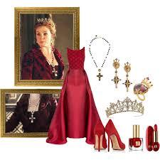 reign tv show hair beads queen catherine de medici polyvore