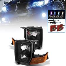 jeep commander black headlights lx12824 with led halos a black color 5 reviews hid