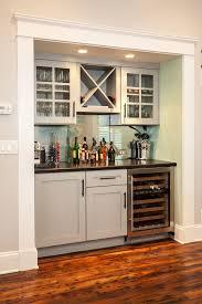 bar in a closet or recessed spot renewal design build atlanta