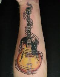 Bass Guitar Tattoo Ideas 60 Inspirational Guitar Tattoos Guitar Tattoo Tattoo And Tatoo