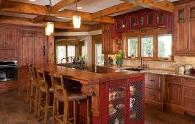 rustic pine kitchen cabinets bar rustic style kitchen pleasant design 13 10 and ideas of