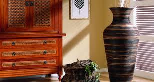 Rattan Vases Big Vase Britta Rattan Furniture