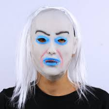 white halloween makeup popular ghost white hair buy cheap ghost white hair lots from