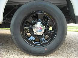 stock ford ranger rims painted my stock wheels black ranger forums the ford