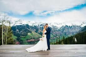 colorado mountain wedding venues brie and s colorado wedding in the snowy mountains by
