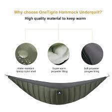 onetigris full length hammock underquilt lightweight under blanket