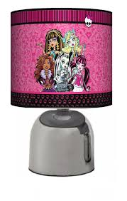 Touch Lamps For Girls Bedroom Monster High Bedside Touch Lamp Girls Bedroom Light Lamp
