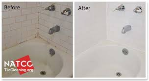 how to clean soap scum and stains in a bathtub
