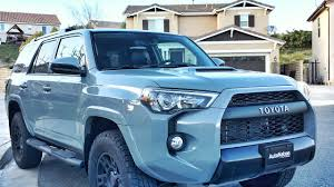 toyota 4runner 2017 black 2017 toyota 4runner trd pro cement preview youtube