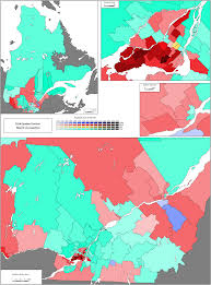 Map Of Quebec Province Canadian Election Atlas 2014 Quebec Provincial Election Week 2