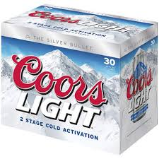 Bud Light 12 Pack Price Coors Light Beer 12 Oz Cans 30 Pk Sam U0027s Club