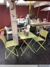 chaises fermob ensemble de meubles de jardin fermob 1 table et 2 chaises a vendre