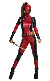 secret wishes deadpool ladies costume super hero movie adults