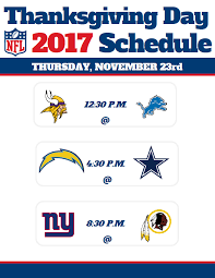 thanksgiving day nfl schedule 2017 previewing cowboys lions