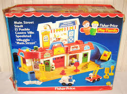 Fisher Price Toy Box Vintage Fisher Price Main Street