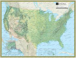 Image Of United States Map United States Physical Atlas Maps