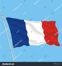 Flag Of Franc Developing Flag France Stock Vector 653377126 Shutterstock