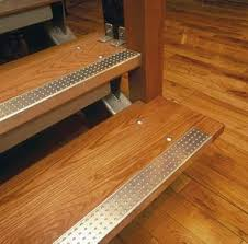 yellow stair tread step nosing profile pinterest stair treads