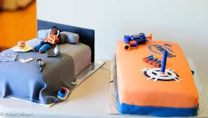sailaja u0027s recipes teenage boy u0027s bed room and nerf gun theme cake