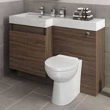 countertop bathroom sink units modern bathroom walnut vanity unit countertop basin back to wall