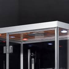 ariel platinum dz959f8 blk l steam shower left configuration 47