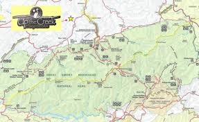 Map Of Pigeon Forge Tennessee by Directions To Up The Creek Rv Camp