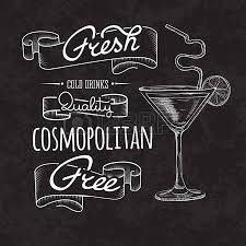 sketch cocktails and alcohol drinks vector hand drawn illustration