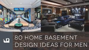 80 home basement design ideas for men youtube